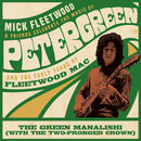 "Mick Fleetwood & Friends - Green Manalishi (with the Two Pronged Crown) [12""]"