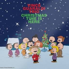 "Vince Guaraldi Trio - Christmas Time Is Here [7"" - Green]"