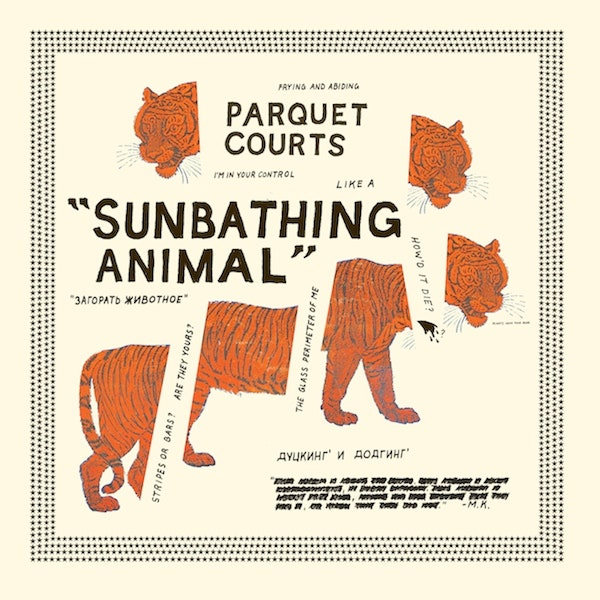 Parquet Courts - Sunbathing Animal [LP - Glow In The Dark]