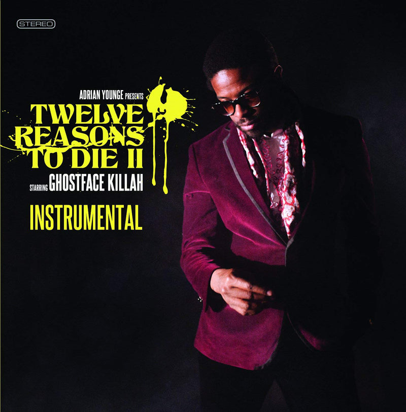 Adrian Younge - Twelve Reasons To Die II Instrumentals [LP]