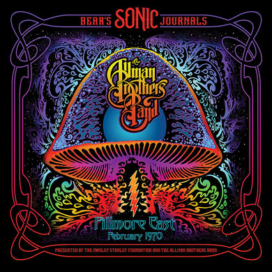 Allman Brothers Band, The - Bear's Sonic Journals: Fillmore East, February 1970