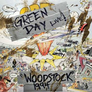 Green Day - Live At Woodstock '94 [LP]
