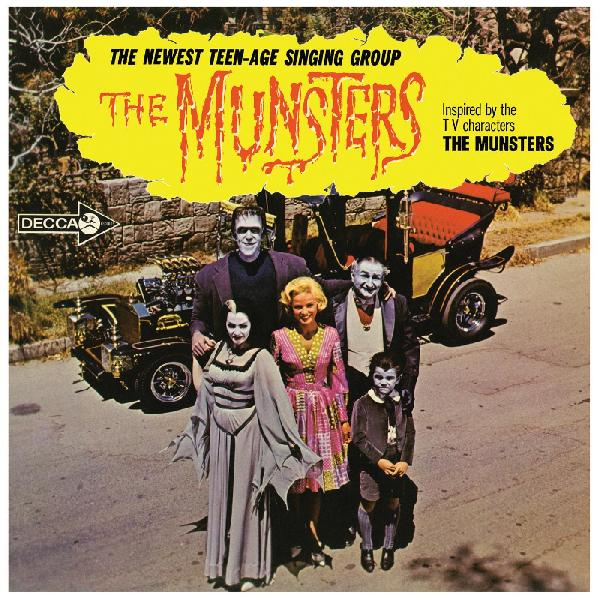 Munsters, The - The Munsters [LP - Pumpkin Orange w/ Black Splatter]
