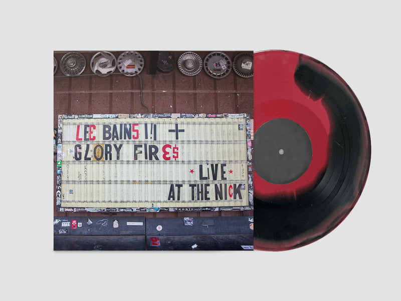 Lee Bains III & The Glory Fires - Live At The Nick [LP - Red/Black]