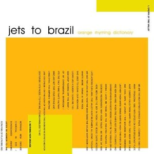 Jets To Brazil - Orange Rhyming Dictionary [2xLP]