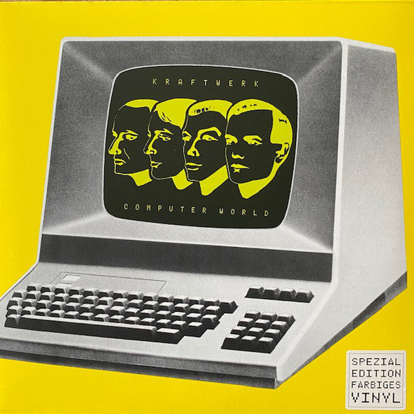 Kraftwerk - Computer World [LP - Yellow]