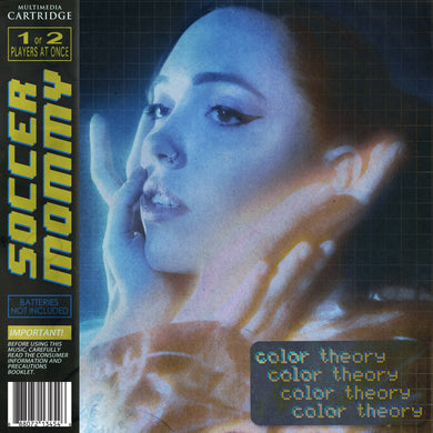 Soccer Mommy - color theory [LP - Yellow/Grey/Blue Mix]