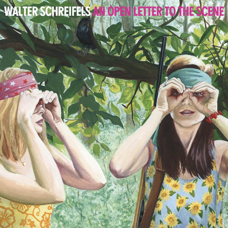 Walter Schreifels - An Open Letter To The Scene [LP - Green/Grey]