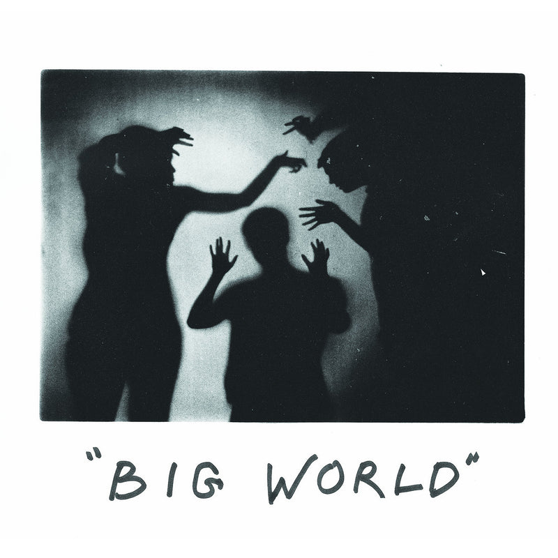Happy Diving - Big World [LP Purple w/ White Splatter]
