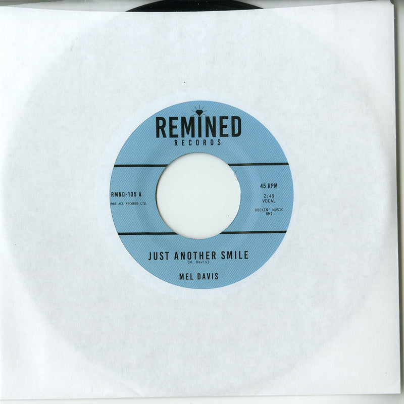 Mel Davis / The Imports  ‎– Just Another Smile / I'm Not Ashamed Of Loving You