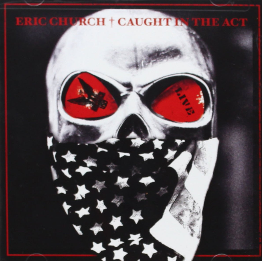 Eric Church - Caught In The Act [2xLP - Blue]