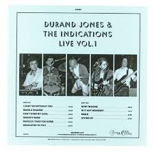 Durand Jones & The Indications - Durand Jones & The Indications Live Vol 1 [LP]