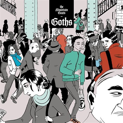 Mountain Goats - Goths [2xLP - Vampire Red]
