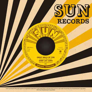 "Jerry Lee Lewis - Great Balls Of Fire / You Win Again [7""]"