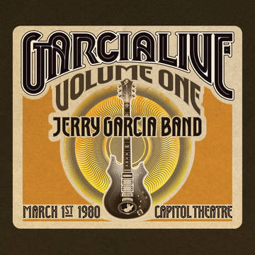 Jerry Garcia Band - GarciaLive Volume One: March 1st, 1980 Capitol Theatre [5xLP]