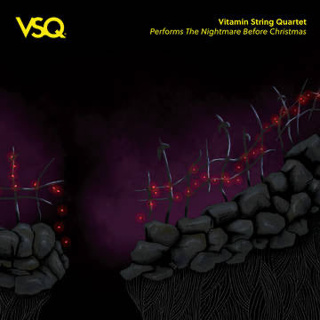 Vitamin String Quartet - Performs The Nightmare Before Christmas [LP - Yellow]