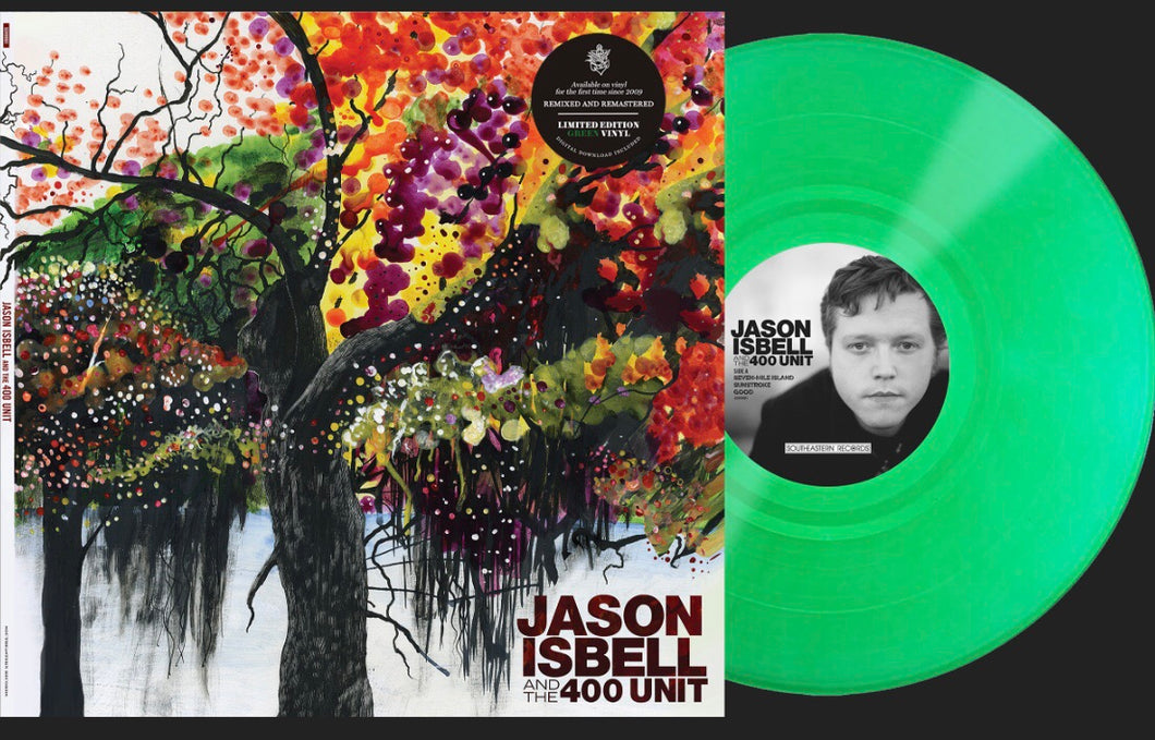 Jason Isbell & The 400 Unit - Jason Isbell & The 400 Unit [LP - Green Vinyl]