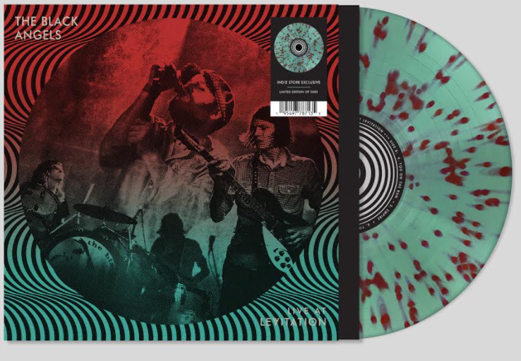 Black Angels, The - Live At Levitation [LP - Seafoam Splatter]