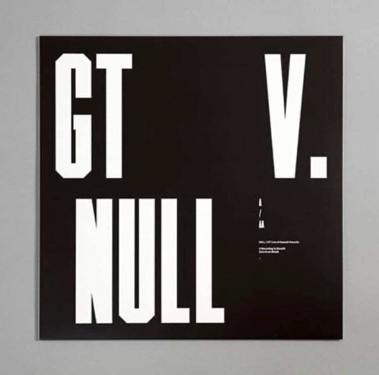 Null / GT - Live At Seasick Records [LP]