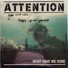Attention - What Have We Done [LP]