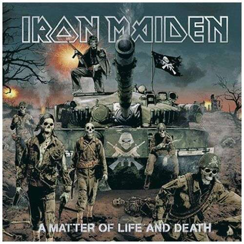 Iron Maiden - A Matter Of Life And Death [2xLP]