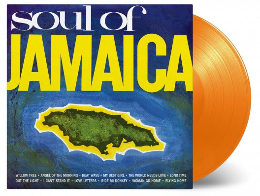 Various Artists - Soul Of Jamaica [LP - Orange]