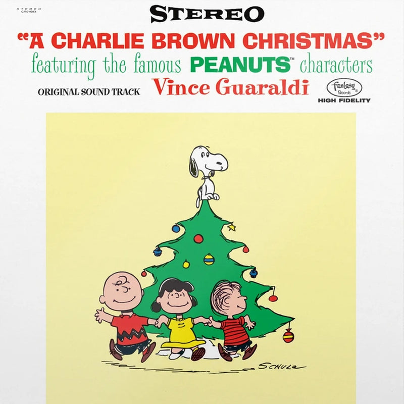 Vince Guaraldi - A Charlie Brown Christmas [LP - Dancing Lenticular Cover]