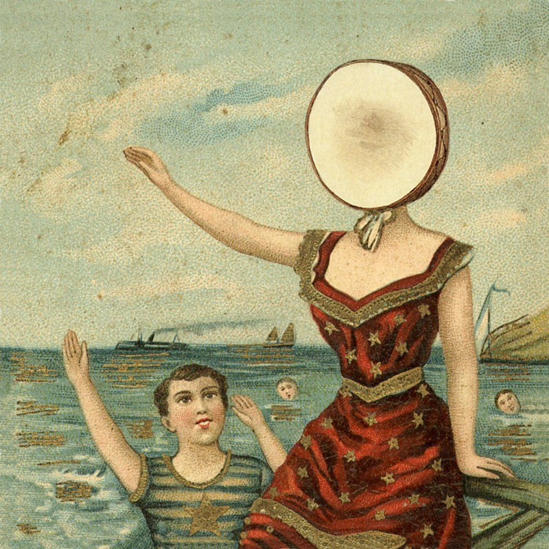 Neutral Milk Hotel - In The Aeroplane Over The Sea [LP]