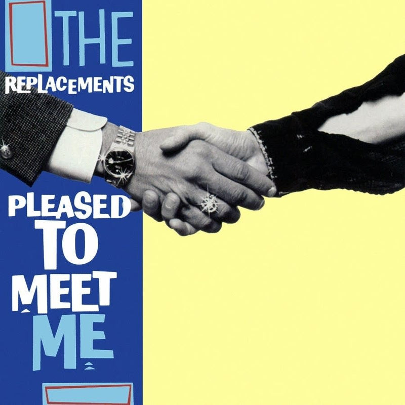 Replacements, The - Pleased To Meet Me [LP - Trans Blue]