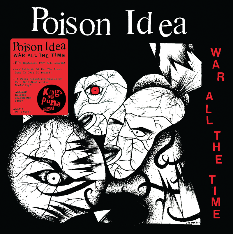 Poison Idea - War All The Time [LP -  Red]