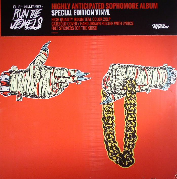 Run The Jewels - Run The Jewels 2 [2xLP]
