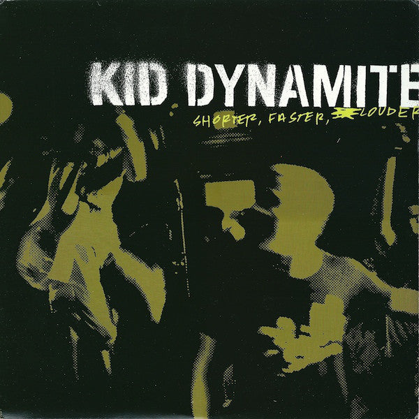 Kid Dynamite - Shorter, Faster, Louder [LP - Clear/Black]