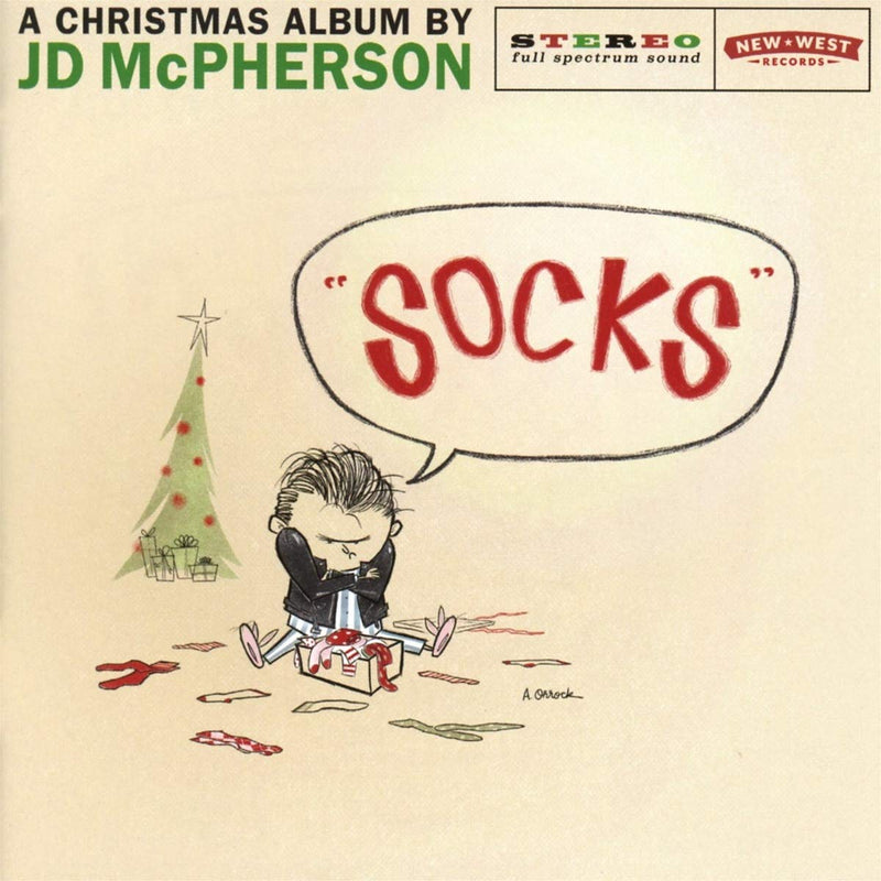 JD McPherson - Socks [LP - Snow Globe Color]
