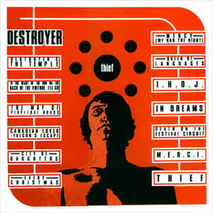 Destroyer - Thief [LP - Orange Creamsickle]