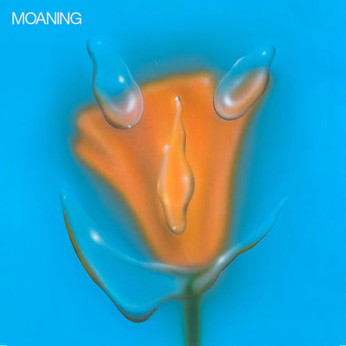 Moaning - Uneasy Laughter [LP - Clear w/ Blue/Orange]