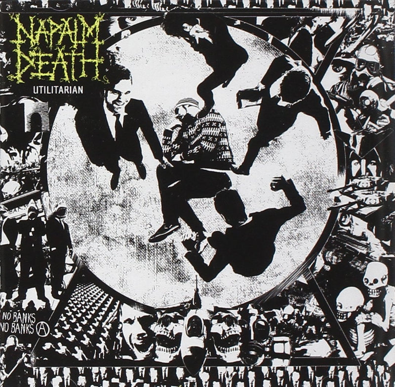Napalm Death - Utilitarian [LP - Black Ice]