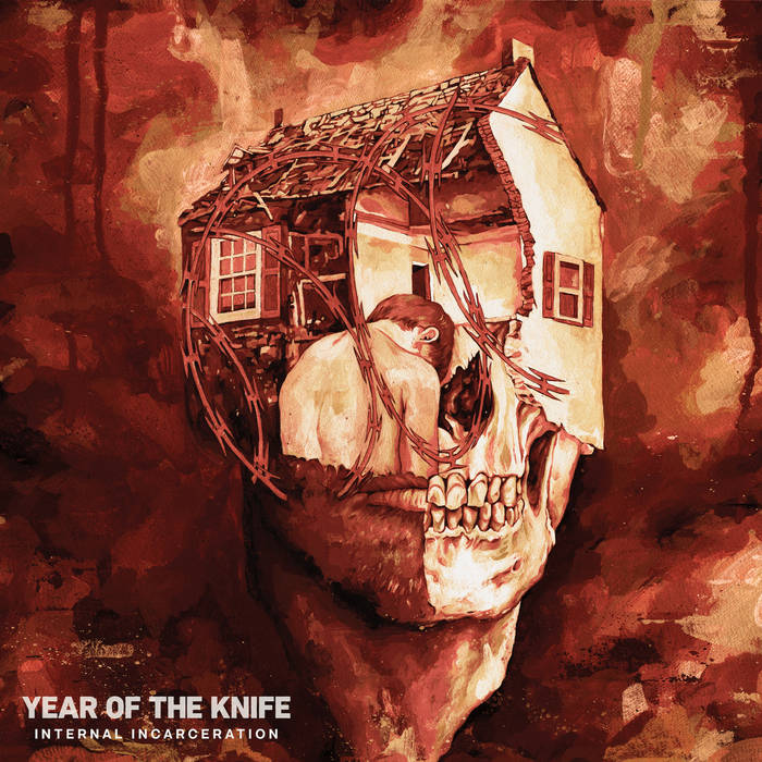Year Of The Knife - Internal Incarceration [LP - Bloodred / Oxblood Pinwheel]