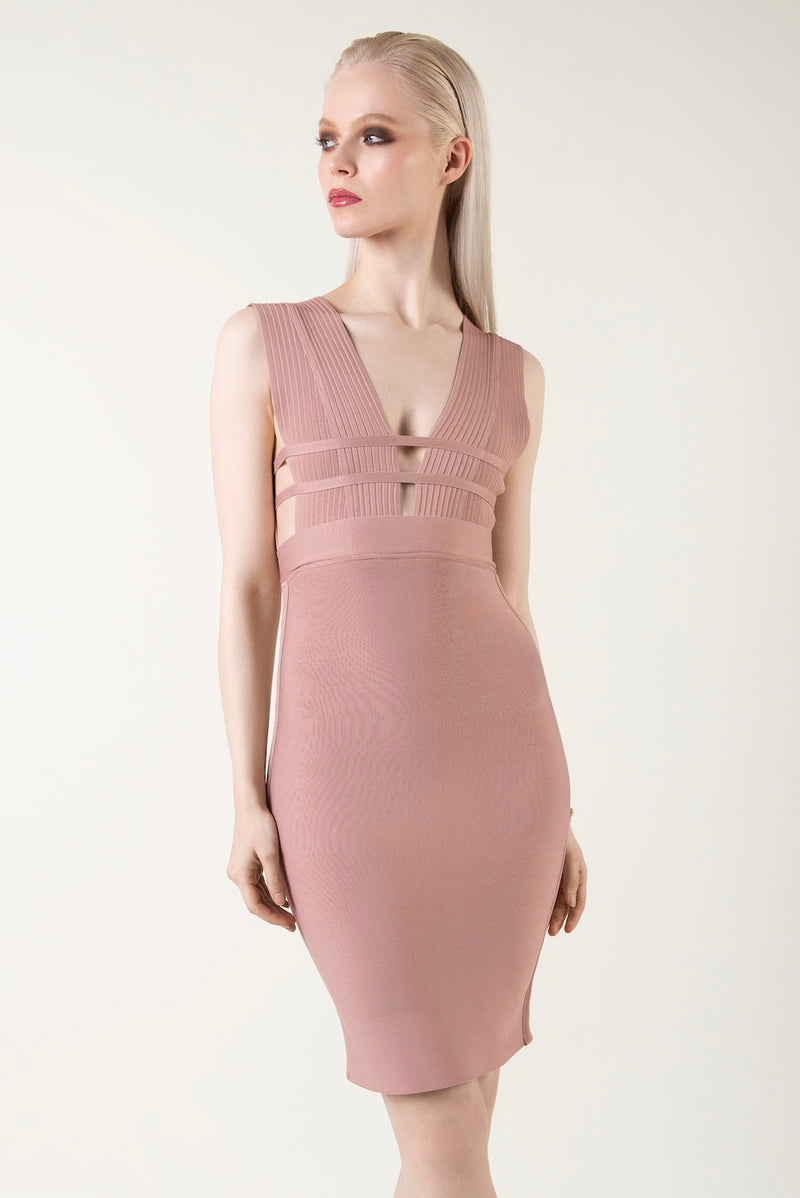 """Vogue"" - Party Dress Bodycon - Just Your Dream London"