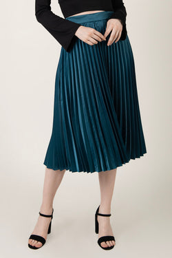 """Scarlet""- Pleated Skirt - Just Your Dream London"