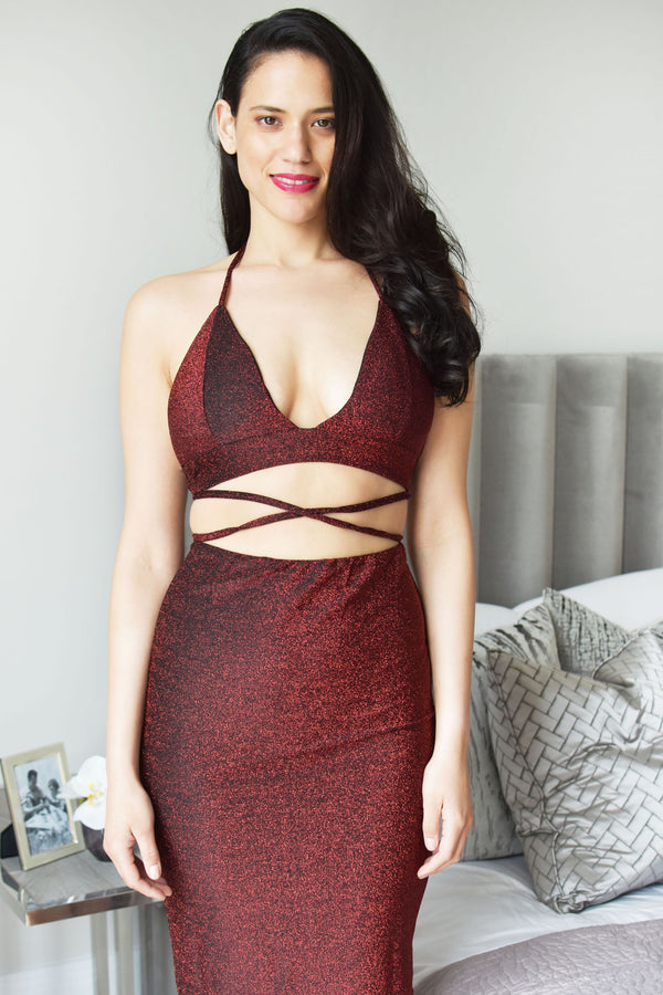 CARMEN -  Bodycon Party Dress - Just Your Dream London