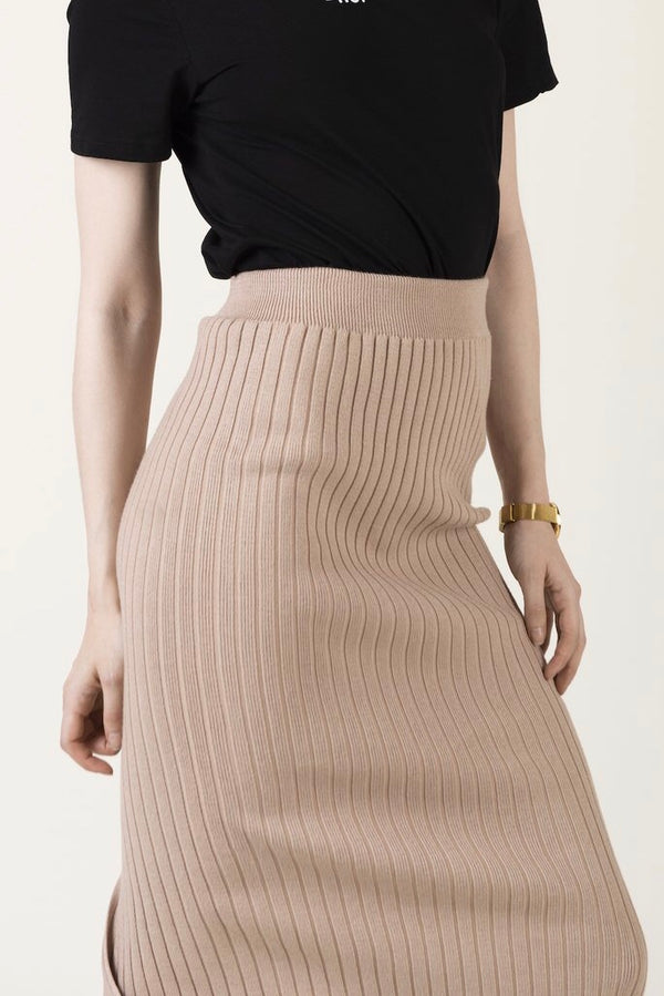 """Brianna""- knitted skirt - Just Your Dream London"