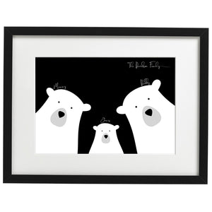 Personalised Bear Family