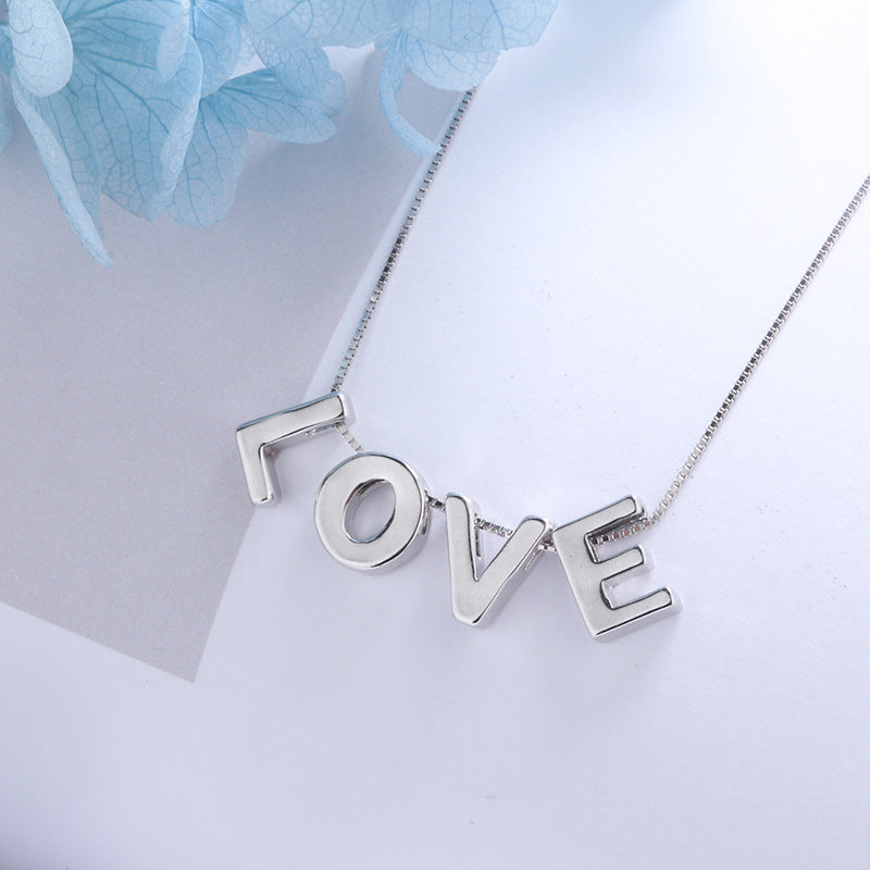 Best Mother's Day Gift !2019 new DIY design letter necklace