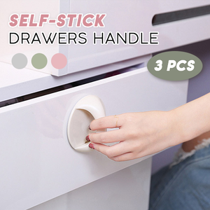 Self-Stick Drawer Handle