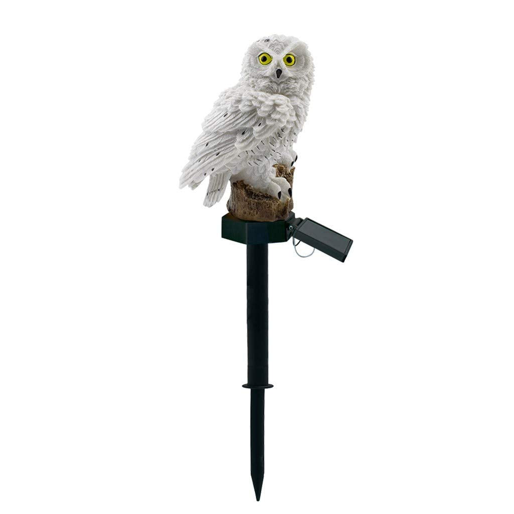 Solar Powered Owl LED Lawn Lamp-Garden Light.