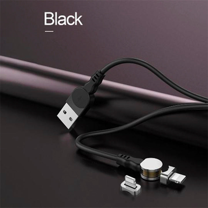 """Buy 2 free shipping""180° Rotatable Magnetic Cable-charge two devices at the same time"