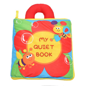 """BUY 2 Free shipping""Baby's Soft Activity Books"