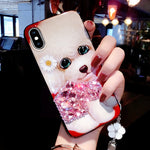 2019 new fashion cartoon pattern couple mobile case for phone shell  protective cover