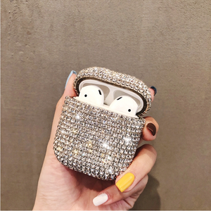 Buy 2 FREE SHIPPING—Airpods diamond sparkly protective case