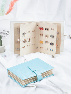 'Buy 2 free shipping 'Earring storage album